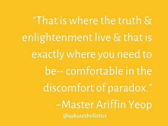 Discomfortable Comfort of Paradox