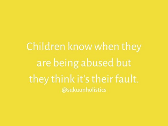 Institutionalized Child Abuse
