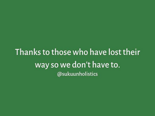 Gratitude to The Lost