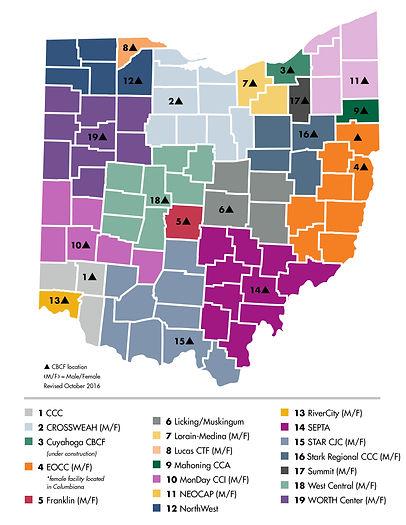 Ohio Community Based Correction Facilities