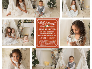 Christmas Mini session offer -Leicester