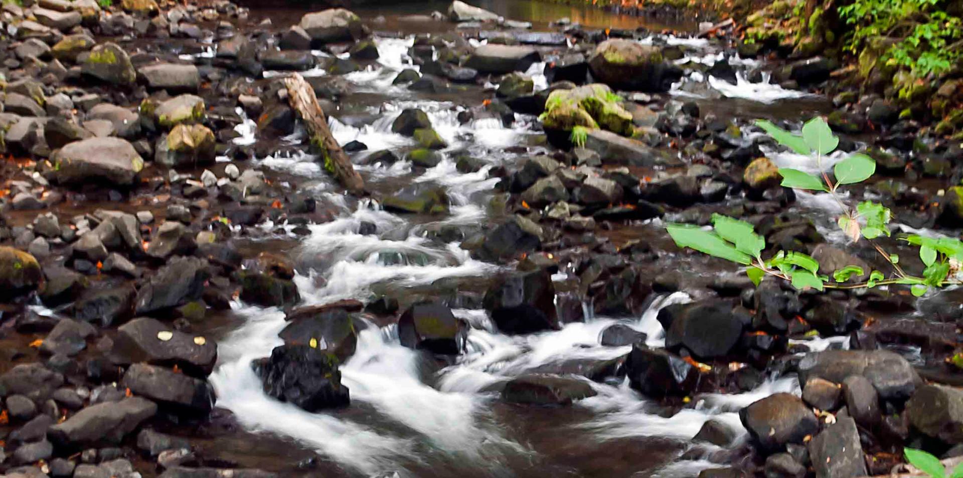 Near Bridal Veil Falls