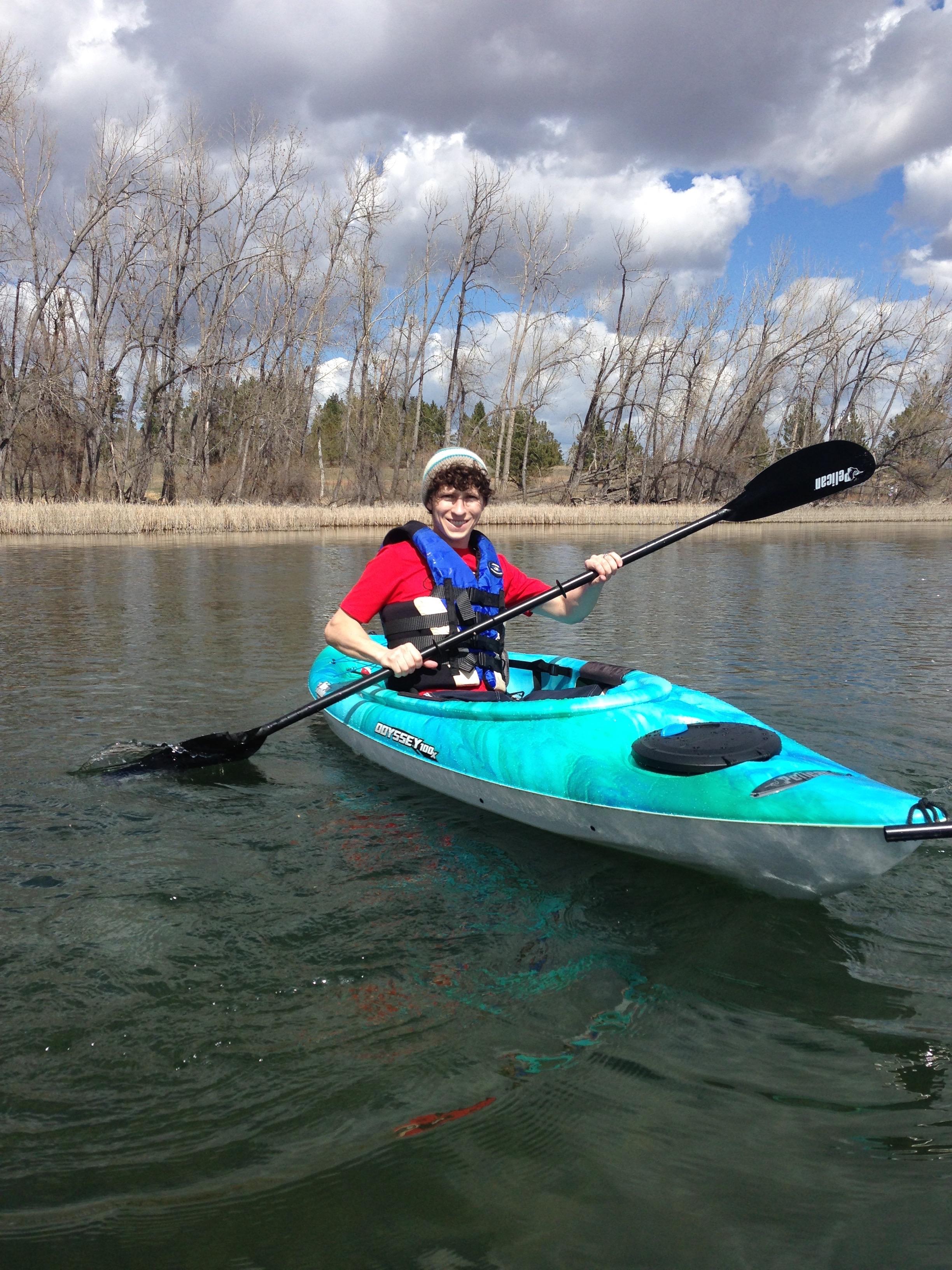 Kayaking on Castle Rock Lake
