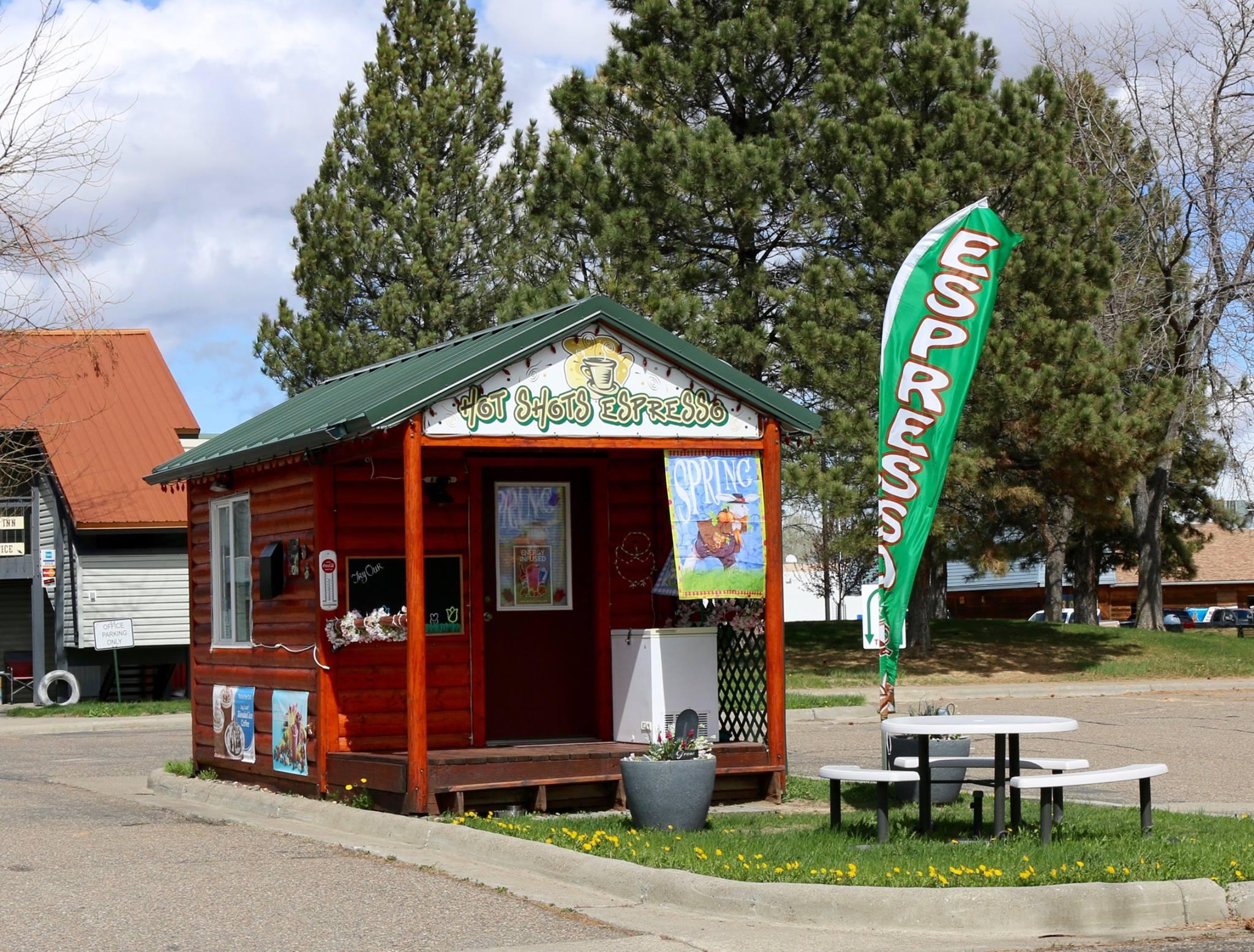 Local Coffee Kiosk