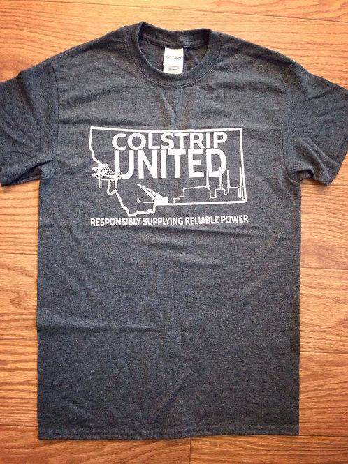 COLSTRIP UNITED CLASSIC CREW NECK T-SHIRT