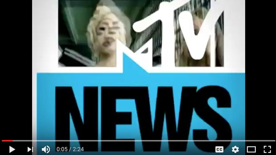 MTV NEWS LADY GAGA COMMENTARY