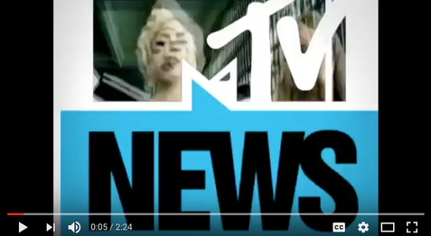 MTV NEWS LADY GAGA COMMENTARY
