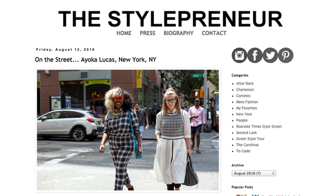THE STYLEPRENEUR