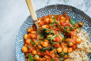 Chickpea Curry (Chhole)
