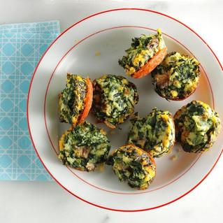 Mini Spinach Frittata