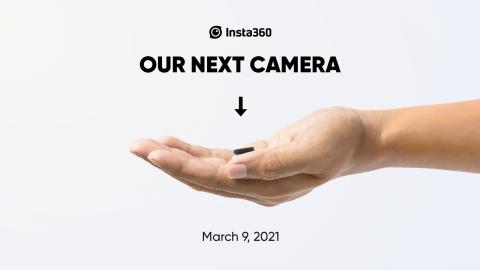 Новая Мини экшен-камера от Insta360