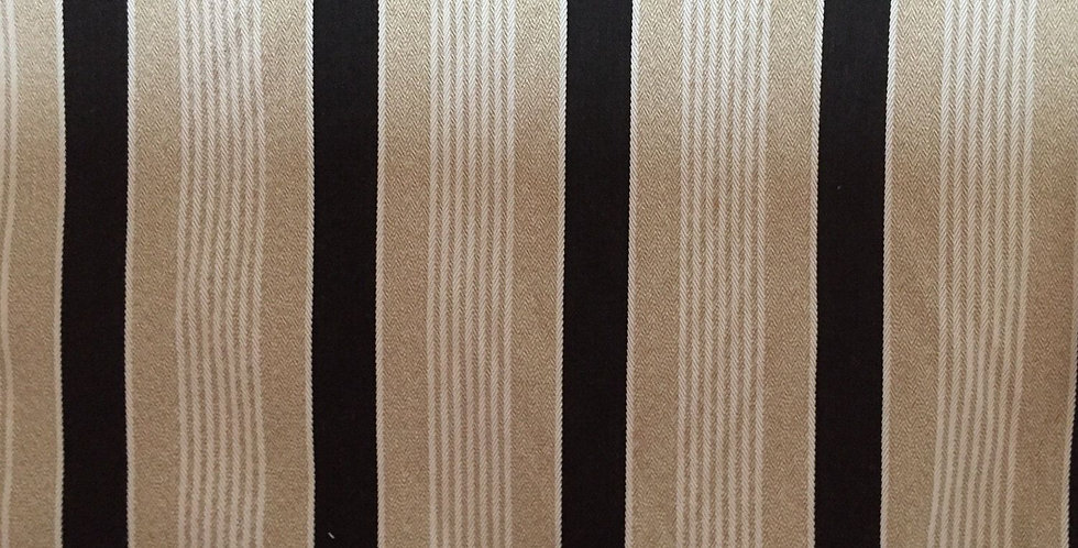 Outdoor Natural, Black and White  Stripe