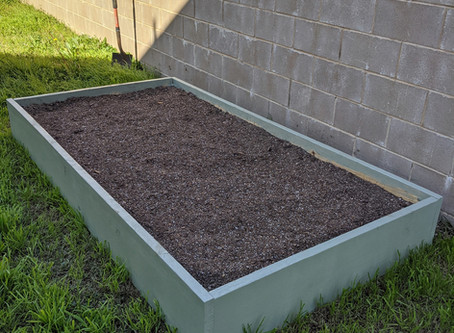 Top five things I learned building a raised garden bed