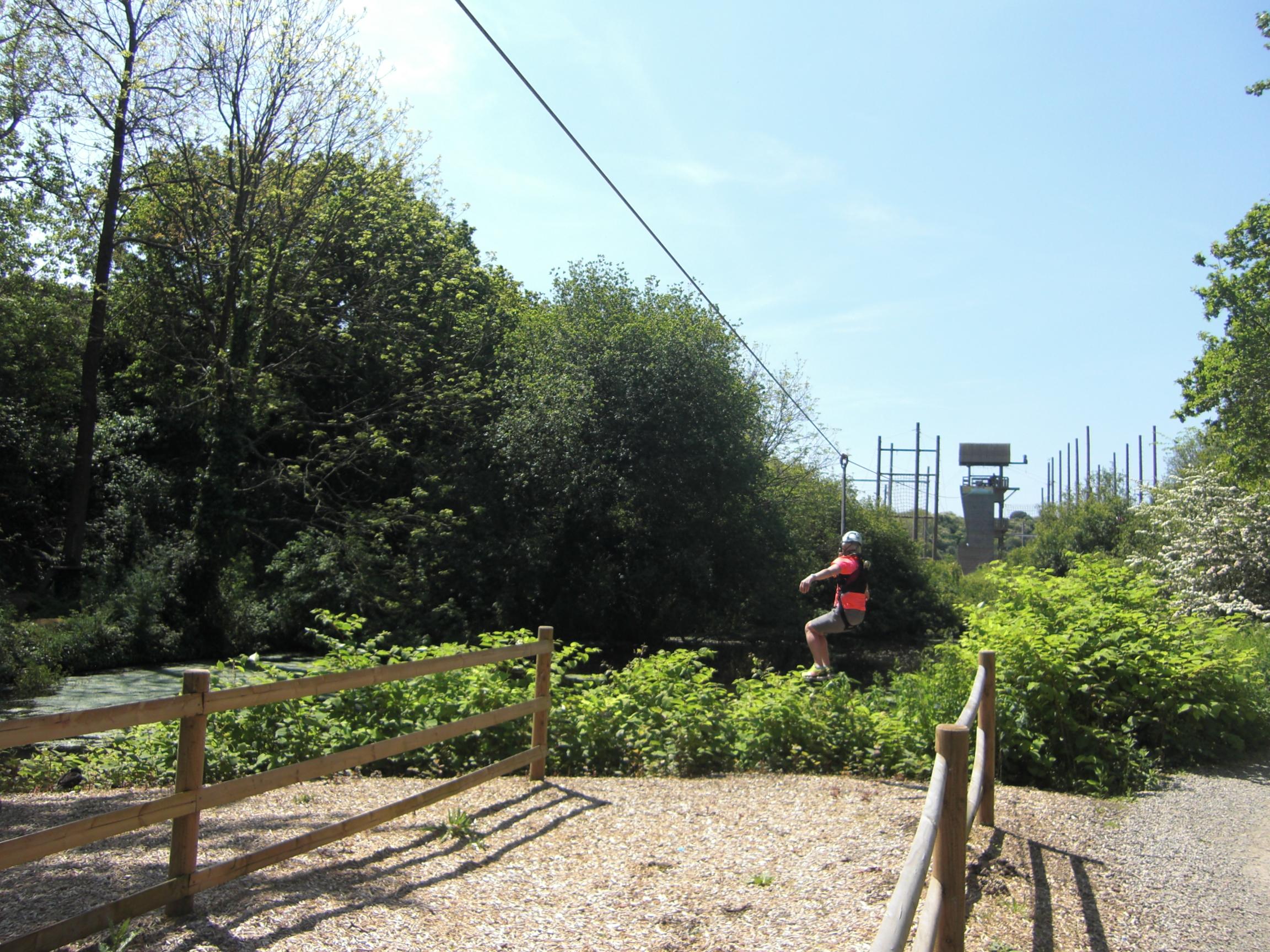 Zip Wire at Valley Adventure Centre