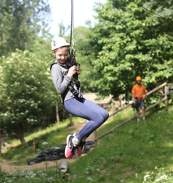 Zip Wire at Valley Adventure Centre Jersey