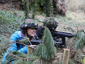 Laser Tag at Valley Adventure Centre Jersey