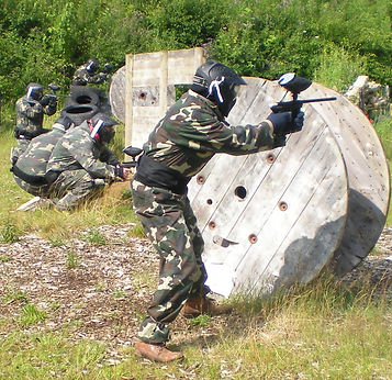 Paintball at Valley Adventure Centre Jersey