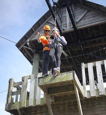 High ropes Aerial Trekking Jersey CI adventure