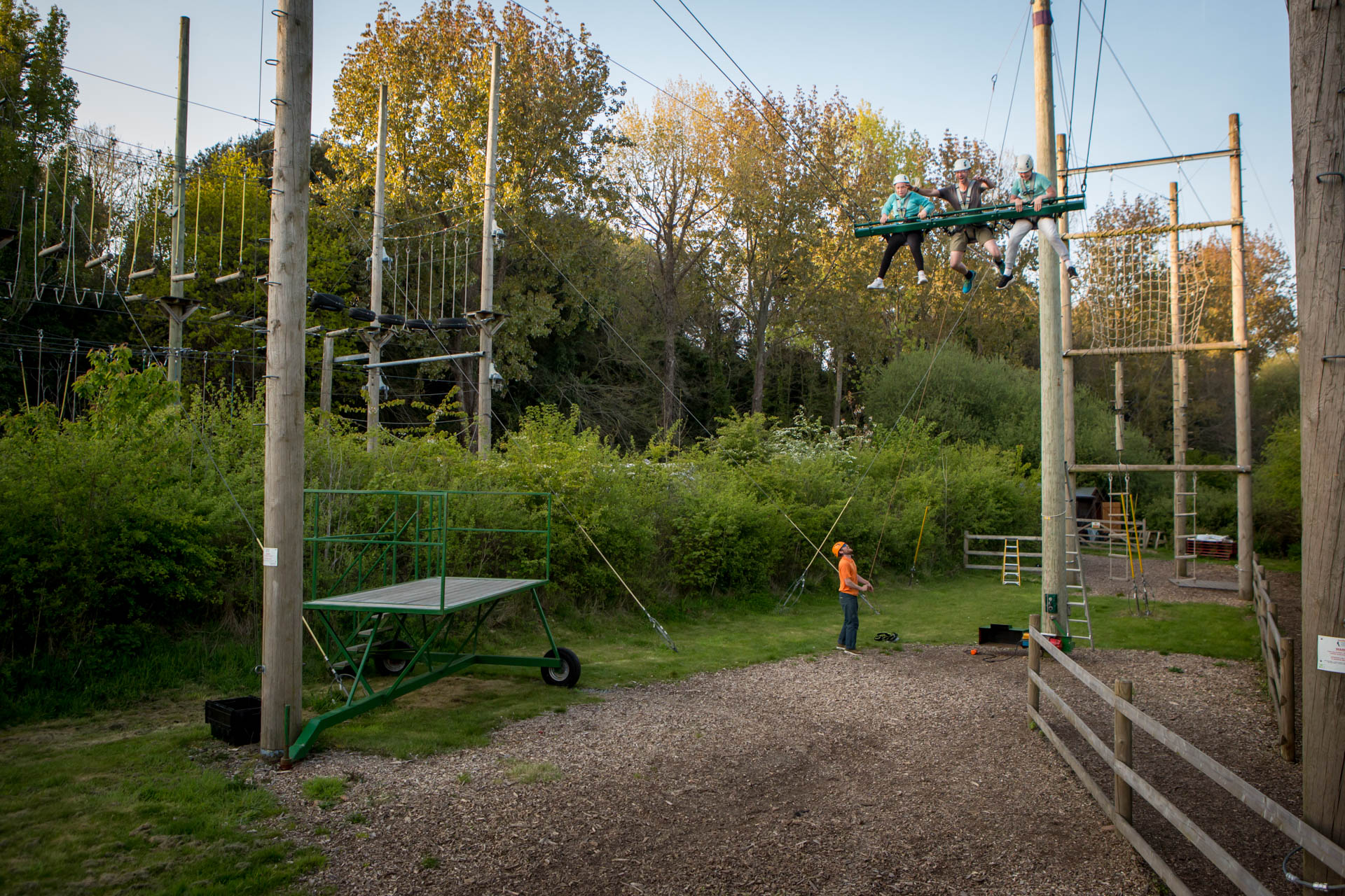 King Swing at Valley Adventure Centr