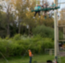 King Swing at Valley Adventure Centre Jersey
