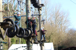 High Ropes Jersey Valley Adventure