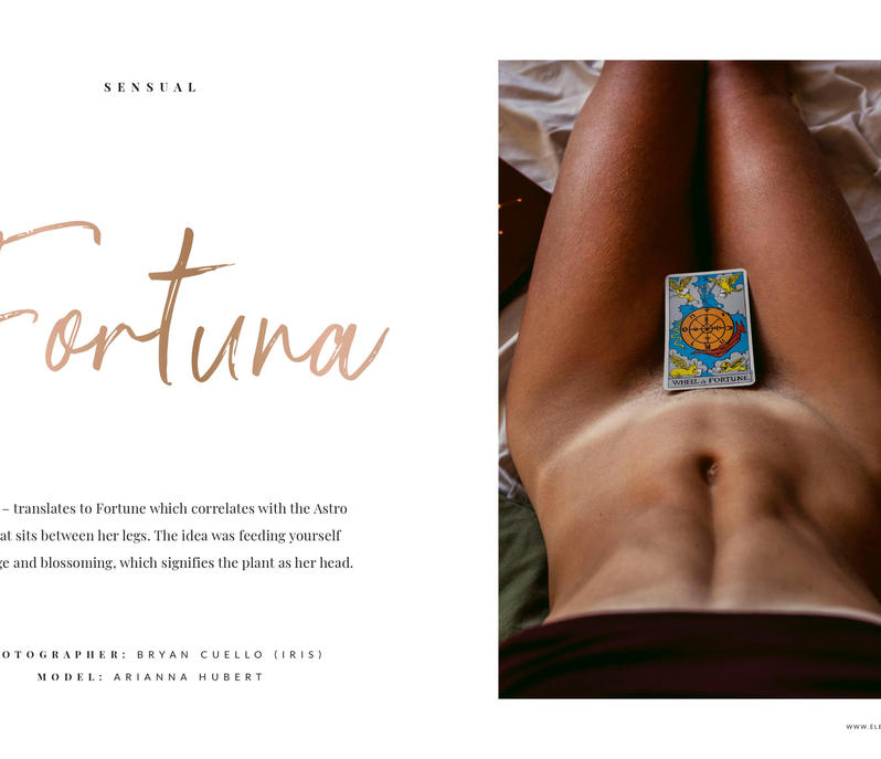 Fortuna for Elegant Magazine