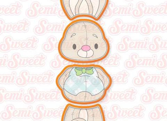 Pre-Order Easter Stackable Bunny Cookie