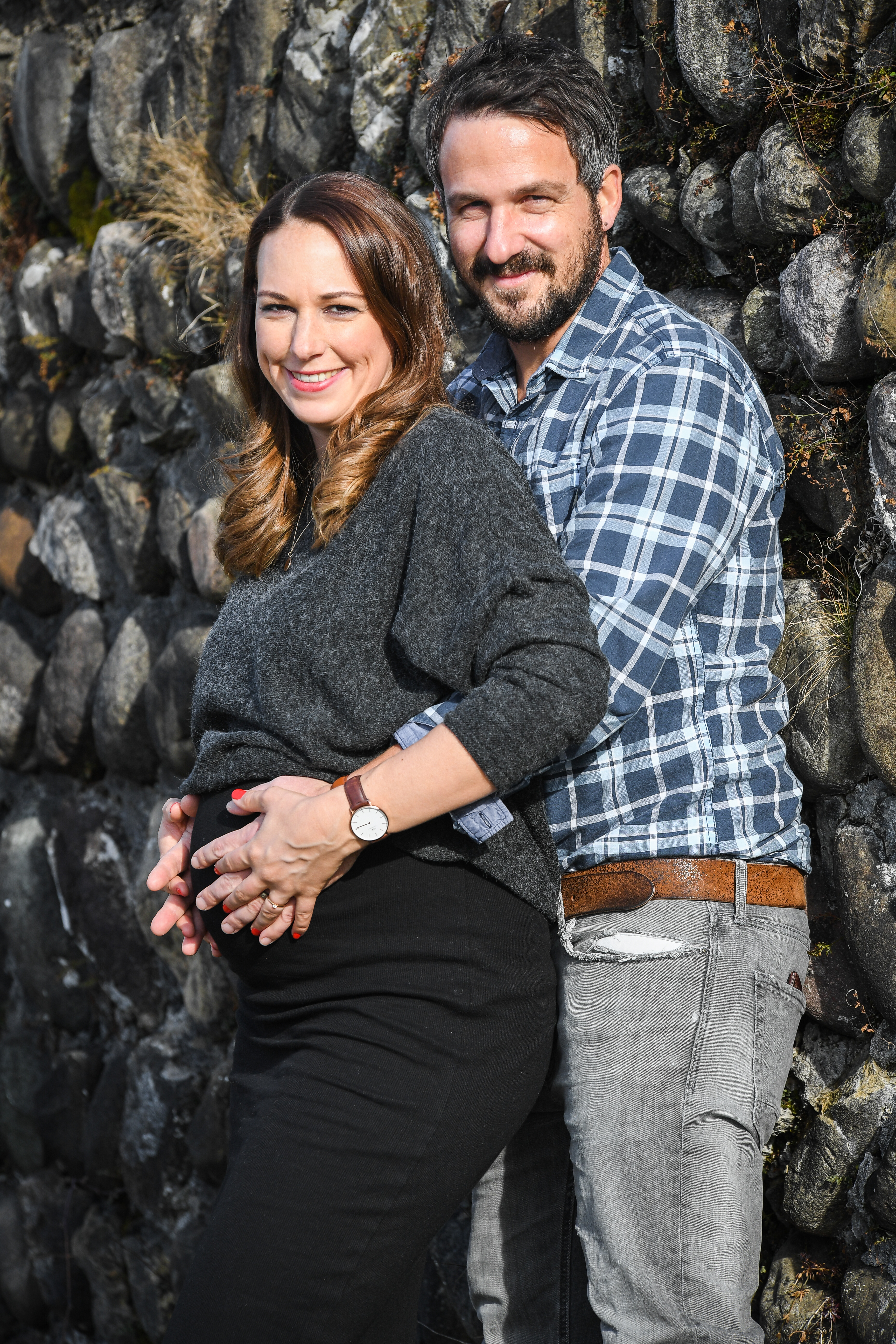 Schwangerschaftsfotoshooting