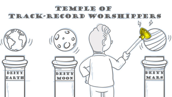 Track-record Worshipers everywhere