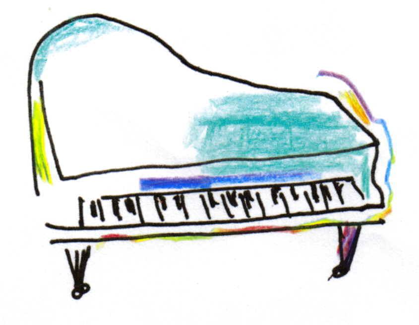 ピアニストパンフレットカット