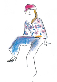 ファッションコンテスト用イラスト
