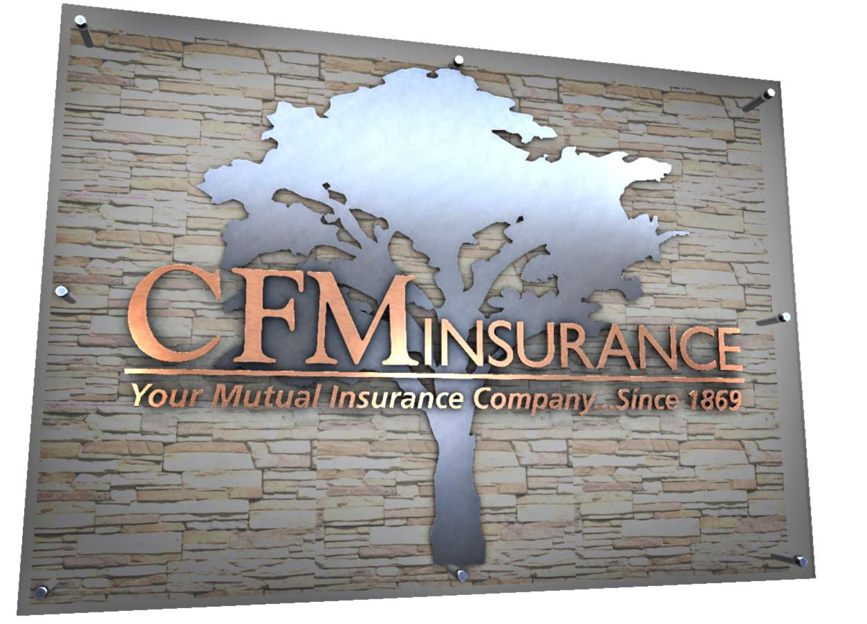 CFM Insurance Sign Rendering