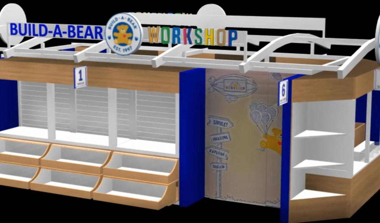 Build a Bear Workshop kiosk concept