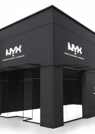 NYX Cosmetics Retail Store Rendering