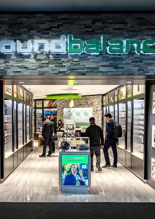 Soundbalance at San Francisco International Airport