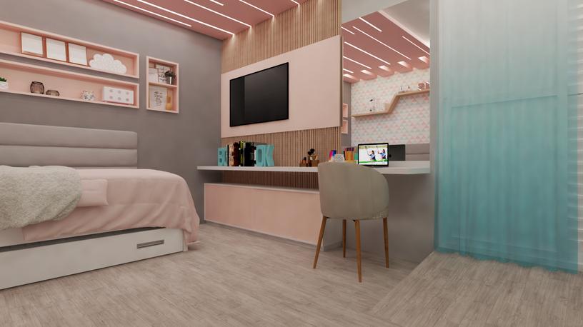 Dormitório pré adolescente
