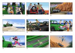 Animatic frames