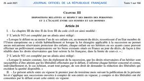 Droit de prélèvement compensatoire ou la mise à mal de la pratique des successions internationales