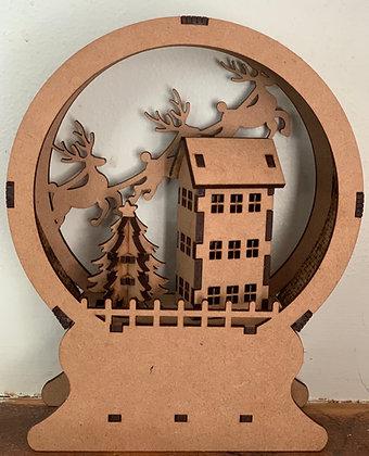 Reindeer Globe