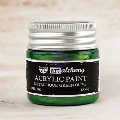 Art Alchemy - Metallique Green Olive