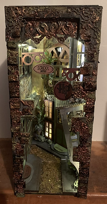 Magic Alley Book Nook Blank Kit