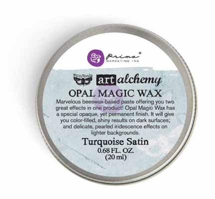 Art Alchemy - Opal Magic Wax - Turquoise Stain
