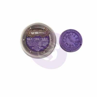 Metallique Wax Electric Violet