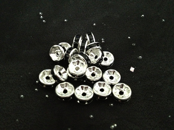 8mm Rondelle Spacer Beads