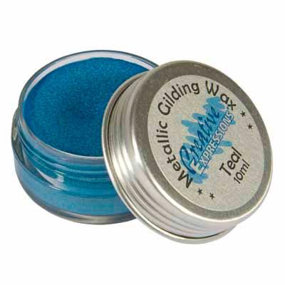 Teal Gilding Wax