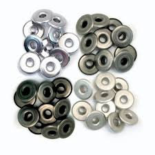We R Memory Keepers Eyelets Wide - Grey