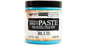Art Extravagance - Blue Patina Paste
