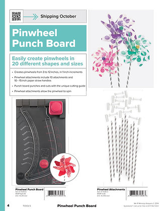Pinwheel Punch Board