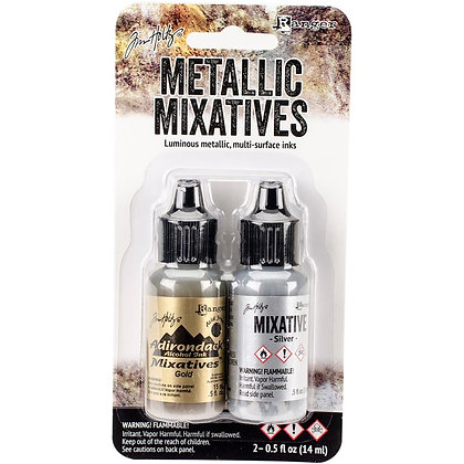 Tim Holtz Alcohol Inks - Metallic Mixatives