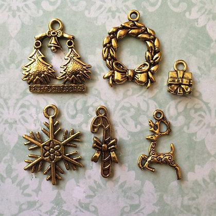 Sleigh bells Charm Pack